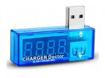 "Tester USB, woltomierz i amperomierz; ""charger doctor"""