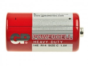 Bateria cynkowa R14; GP Powercell