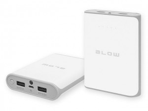 Bateria awaryjna Power Bank 14000mAh 2,5A, 2 x gniazdo USB; BLOW PB14