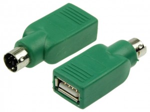 Adapter wtyk PS2 na gniazdo USB typ A