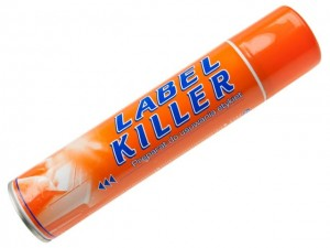 Label Killer; Do usuwania etykiet; 300ml