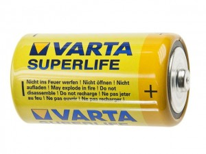 Bateria cynkowa R14; Varta Superlife